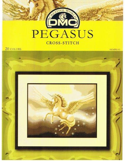 DMC's PEGASUS Counted Cross Stitch Pattern