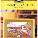 DMC's SUMMER GARDEN Counted Cross Stitch Pattern
