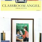 DMC's CLASSROOM ANGEL Counted Cross Stitch Pattern