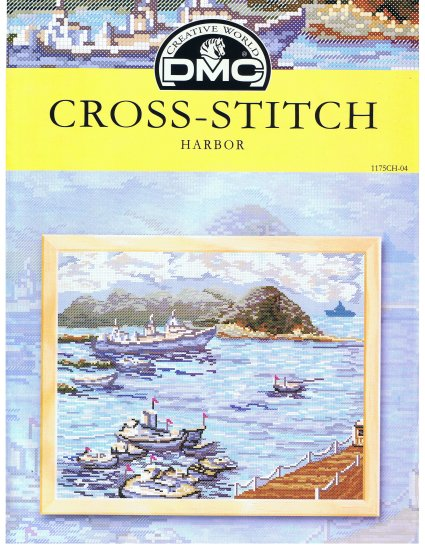 DMC's HARBOR Counted Cross Stitch Pattern