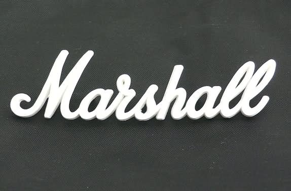 "NEW Original Marshall amp Logo  6"""