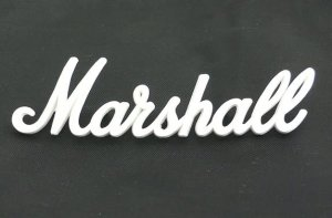 NEW Original Marshall amp Logo  6""