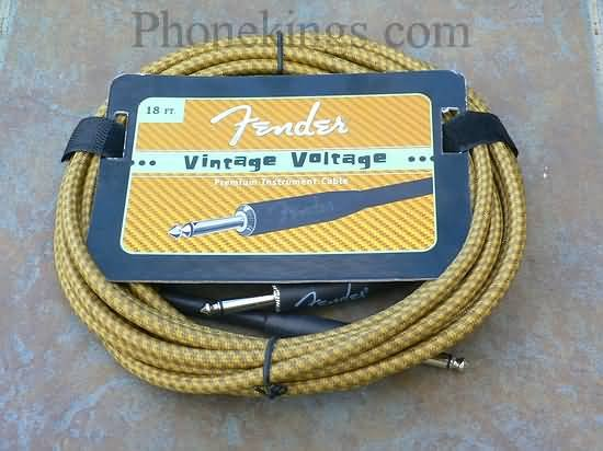 Original Fender Vintage Voltage 18' Guitar cord cable t