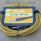 Original Fender Vintage Voltage 18' Guitar cord cable t