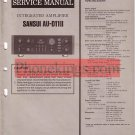 Sansui  AU D11 II  amplifier  Service  manual