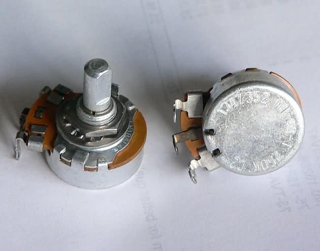 NOS Centralab 250K pot   potentiometer