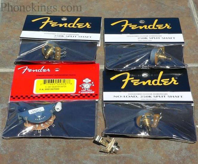 NEW Fender Strat Stratocaster Tone upgrade kit!