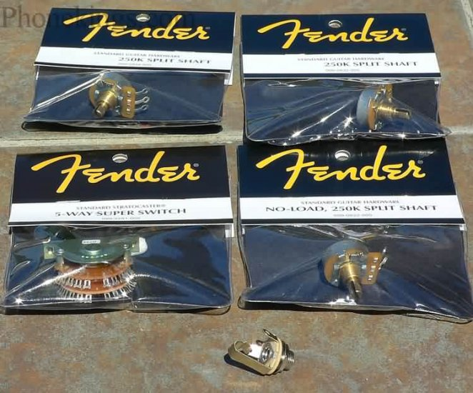 NEW Fender Strat Stratocaster Tone upgrade kit! Super