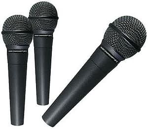 NEW NADY sp5 Mic 3-Pack microphone with cables