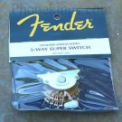 NEW Fender Stratocaster 5-way SUPER switch