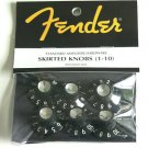 NEW Original Fender tone  volume knobs 6 Blackface (6)
