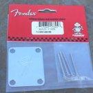 NEW Fender F Style Neck Plate  for Tele  Strat 4 bolt