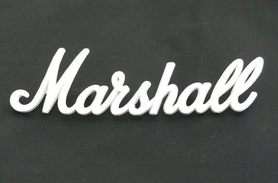 """NEW Original Marshall amplifier Logo  9"""""""