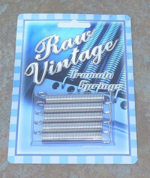 Raw Vintage Tremolo Springs for Fender  Strat guitar