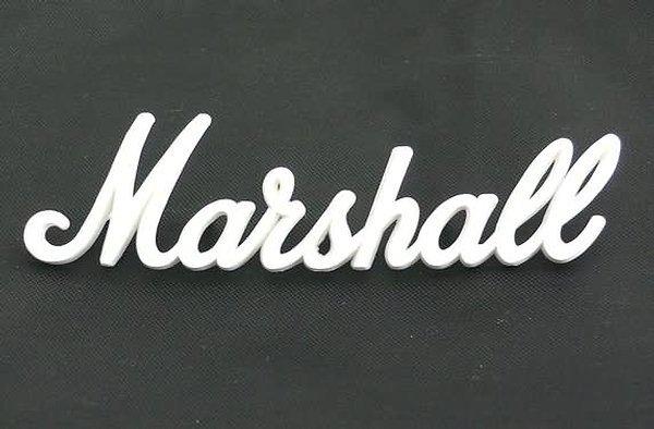 "NEW Original Marshall amp Logo small  6"""