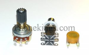 Wah upgrade kit Clyde pot  Fasel  for Vox or crybaby  Y