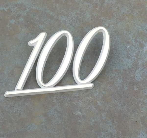 NEW Original Marshall 100 amp Logo   GOLD