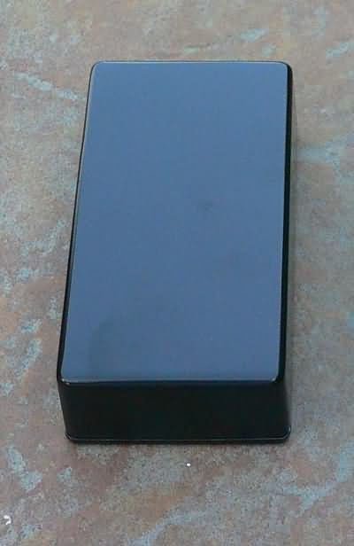Diecast Aluminum Project Box Hammond 1590B size sm Blac