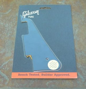Genuine GIBSON Les Paul Custom Pickguard 5 Ply Black
