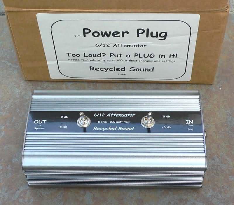 Recylced Sound Guitar amplifier  Attenuator  0/6/12 db