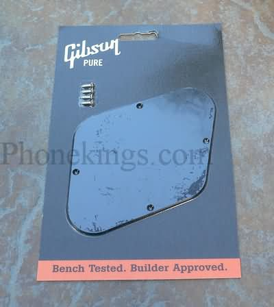 Gibson Les Paul  Backplate control  cover Black