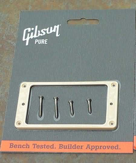 "NEW Gibson Les Paul  Pickup Ring NECK 1/8"" CREME"