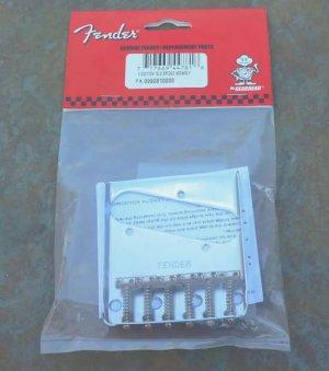 Fender Telecaster Guitar Bridge SIX  saddles