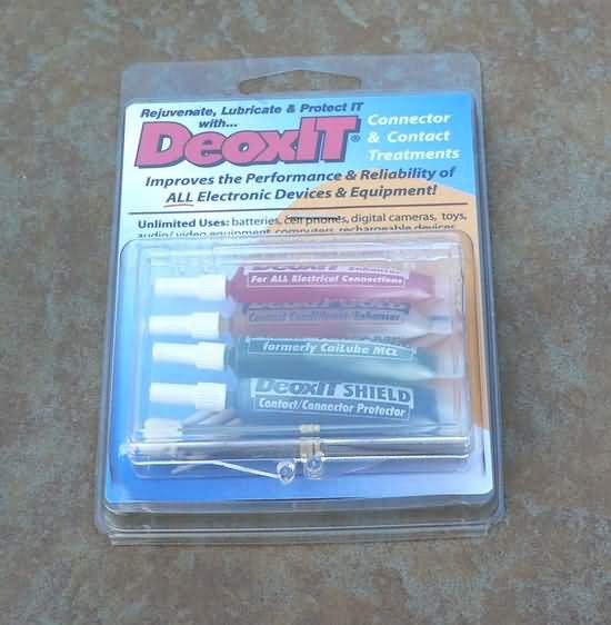 DeoxIT D100L  gold  fader Shield 100% solution  KIT