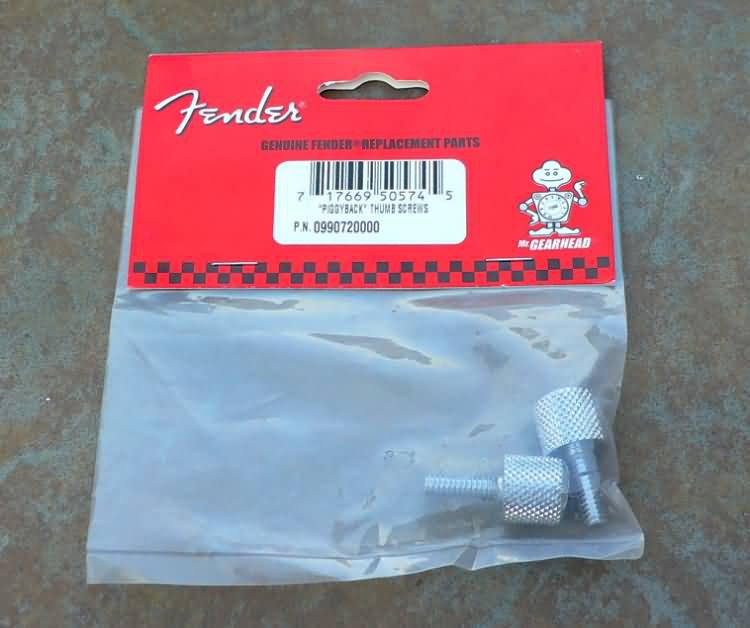 NEW Original Fender amp amplifie piggyback Thumb Screws