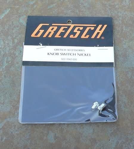 NEW Genuine Gretsch switch tip cap  Nickel