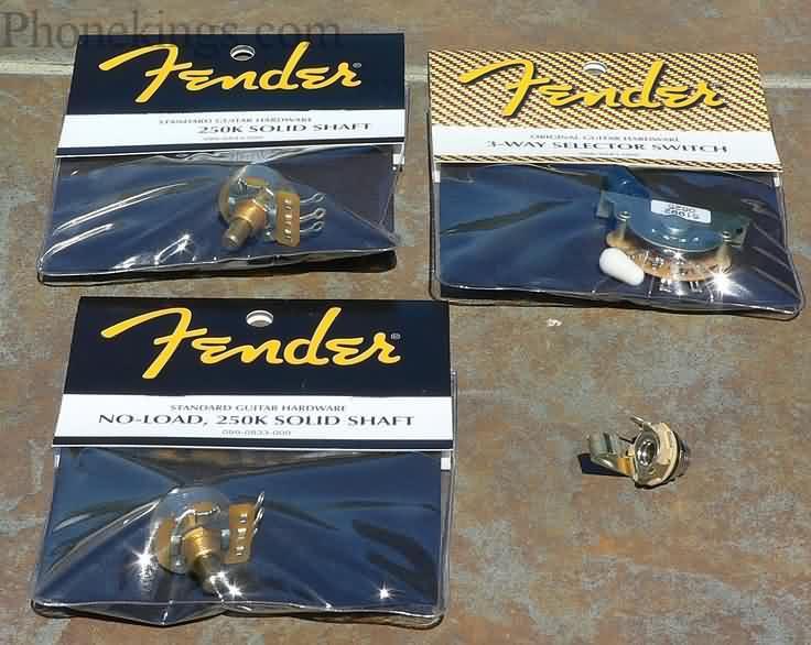 NEW Fender TeleTelecaster Guitar Tone upgrade kit!