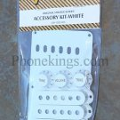 NEW Fender Strat Stratocaster Accessory kit!  White