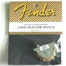 NEW Genuine Fender Guitar Telecaster 3-way switch