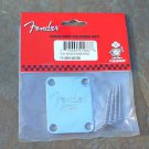 Fender Guitar Neck Plate  for bass Corona 4 hole BASS