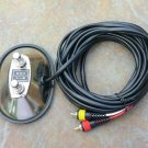 2 Button  foot switch For Fender amplifiers two RCA ends footswitch