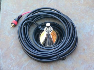 1 Button  footswitch For Fender amps one RCA  end Foot switch