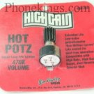 Hot Potz Wah pot for crybaby effects pedal New Dunlop 470K
