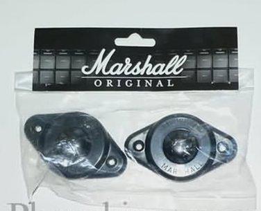 Marshall amp feet (2) amplifier  sprung feet