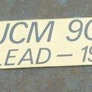 Marshall JCM 900 Logo  Plate Lead