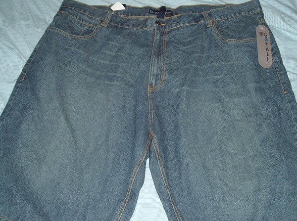Karl Kani Blue Denim Jean Big Tall Shorts Sz 52