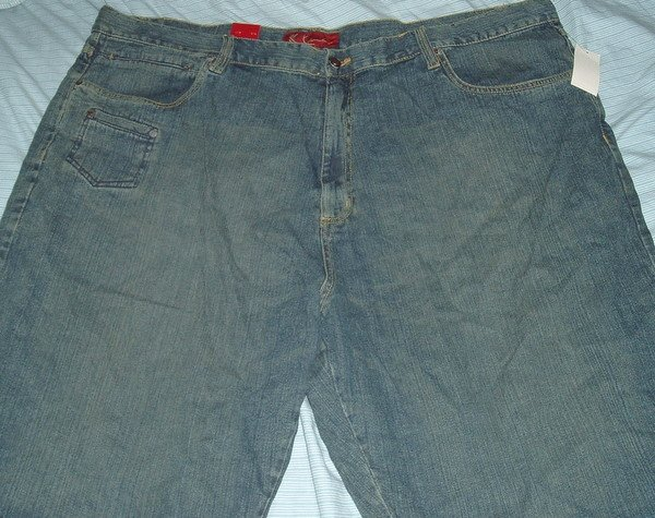 Karl Kani Blue Denim Jean Big Tall Shorts Sz 50