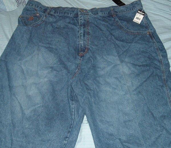 Makaveli Blue Denim Big Tall Shorts Sz 52