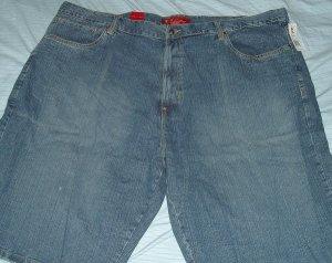 Karl Kani Blue Denim Jeans Big Tall Shorts Sz 50