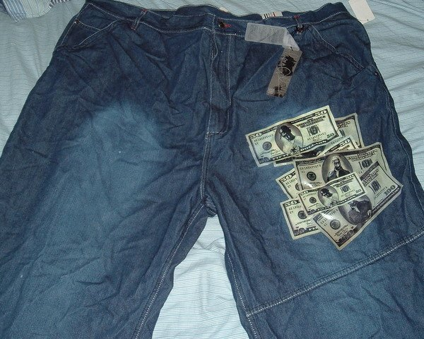 Makaveli Blue Denim Jeans Big Tall Shorts Sz 50