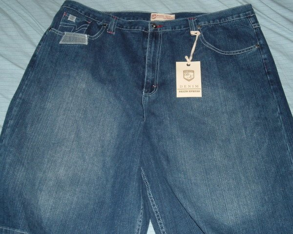 Brooklyn Xpress Blue Denim Big Tall Shorts 46