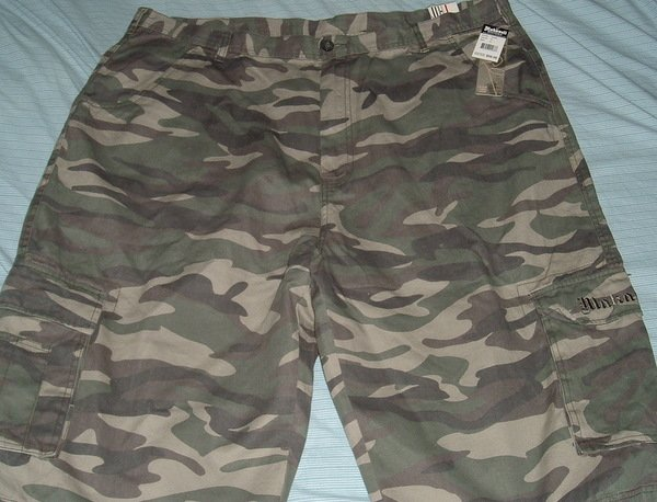 Makaveli Camouflage Big Tall Shorts 46
