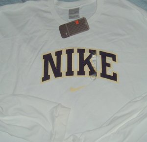 Nike Air White Logo Big Tall T Shirt 3xlt 3x 3xl