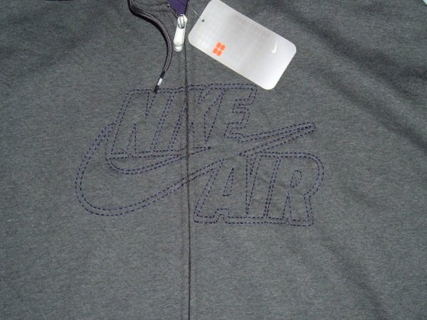 Nike Air Grey Hoodie Hoody Jacket Coat 3xlt 3x 3xl