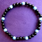 Evil Eye Black Beaded Bracelet