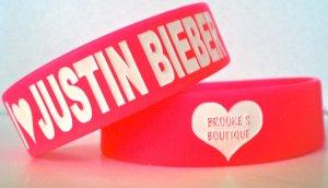 I LOVE JUSTIN BIEBER (Pink)